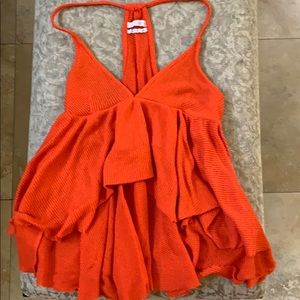 Orange Tank Top from Urban Outfitters!